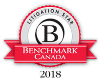 Benchmark Litigation 2018 - Litigation Star